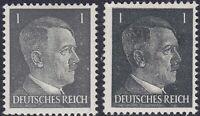 Stamp Germany Mi 781a 781b Sc 506 1941 WW2 3rd Reich War Hitler BOTH TYPES MNH