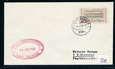 86683) SHIP POST Germany Great Britain GB/UK Wilhelmshaven 1968