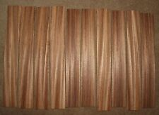 Zebrawood quarter sawn fingerboard blanks, sold individually.