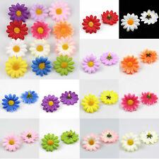 40XArtificial Sunflower Heads Artificial Daisy Fake Sun flower Baby Shower Decor
