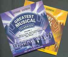 GREATEST MUSICAL CLASSICS- 2 CD PROMO SET / CAROUSEL, SOUTH PACIFIC, MISS SAIGON