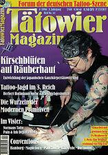 Tätowier Magazin 4/1996 Juni Juli,Normans Tatto,Magdeburg,Pain & Ink Department