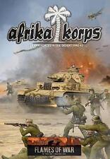 Afrika Korps - FLAMES OF WAR Hardback rule book