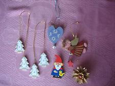 Weihnachten Baumbehang aus Holz Engel Weihnachtsbaum Stern Deko