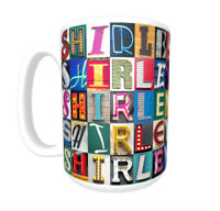 THEO Coffee Mug Cup featuring the name in photos of sign letters
