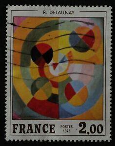 Timbre poste. France. n°1869. peinture. Robert Delaunay.