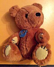Dakin Bear Plush Musical Sitting Brown Stuffed Vintage 1981 Wind Up Collectible