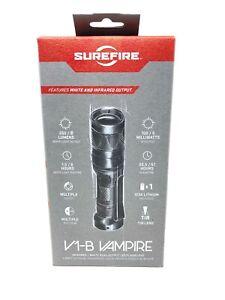 NEW Surefire V1B Vampire Infrared IR/ White Dual Output LED Flashlight (V1-B-BK)