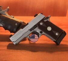 Pistol Gun Display Stand Handgun Display Stand Rod Storage or Safe American Flag