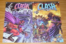 Clash: Citizen's League Against Super-Humans #1 VF/NM one-shot + variant set