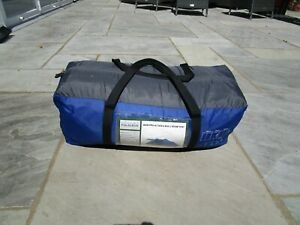 Pro Action 6 Man 2 Room Camping Tent Blue (Used Once)