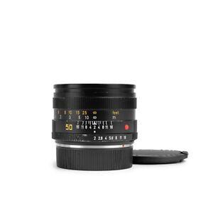 Leica 50mm f2 SUMMICRON-R V2 E55 Lens #335... *Very Good*