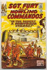 Sgt. Fury & His Howling Commandos #16 (1965) Very Good/Fine (5.0) ~ Marvel