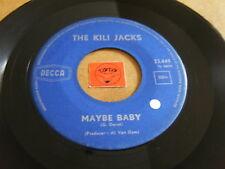 THE KILI JACKS - MAYBE BABY - HEY HULLY GULLY GIRL - LISTEN - TEEN ROCK  POPCORN