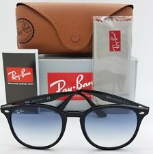 NEW Rayban sunglasses RB4259 601/19 51 Black Light Blue Gradient 4259 AUTHENTIC