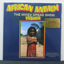 MIKEY DREAD 'African Anthem Dubwise' Ltd. Edition 180g BLUE Vinyl LP NEW/SEALED