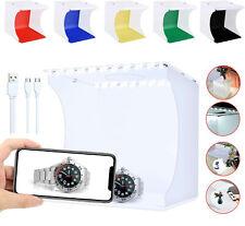 UK Photo Studio Tent LED Light Box Kit Portable Mini Photography Shooting Booth