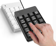Quiet Usb Numeric Keypad Financial Numpad Keyboard for Notebook Laptop Desktop