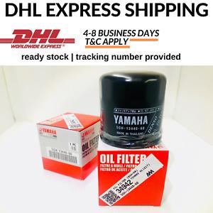 YAMAHA 100% Original Oil Filter Mt09 Mt07 Yzf R1 R6 Xj6 Fz1 fz8 R25 FJR1300 Mt10