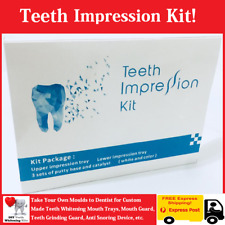 DIY Teeth Impression Kit. Take Your Mould to Dentist for Custom made Mouth Tray