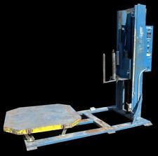 Lantech V Series Lan Wrapper Shrink Film Stretch Wrapper Machine 4 X 4 Pallet