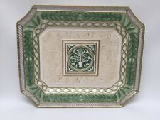 Fitz And Floyd Large Gregorian Platter Christmas Collection 16� Unused