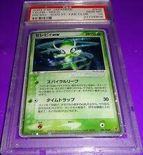 Pokemon Celebi #6 Japanese  Fan Club Promo Holo I 5000 PT Card  PSA 10