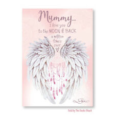 Mummy Mother Gift Affirmation Ceramic Plaque Lisa Pollock Wings of Love Present