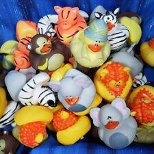 "Random Assortment of 50 ""Ugly"" Safari Ducks Rubber Duck Hot Tub Pool Bath"