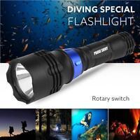 Bajo Agua 500m 5000lm XM-L T6 LED Linterna para Bucear impermeable linterna