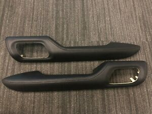 JZA80 Toyota Supra Genuine OEM Armrests (Pair) 74210-14150-C0 & 74220-14160-C0