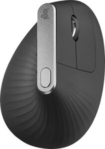 Logitech - MX Vertical Wireless Optical Mouse - Graphite (IL/RT6-14741-910-00...