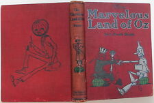 L. FRANK BAUM The Marvelous Land of Oz FIRST EDITION