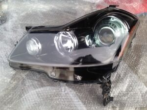 05 06 07 08 09 INFINITI M35 M45 LH Left Headlight Xenon Sport Black