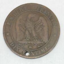 M291 : 10 Centimes Napoléon III 1856BB Voir Photos Contractuelles