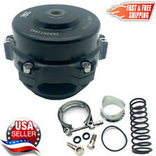 TiAL Style BOV 50mm Billet Blow Off Valve Version #1 BLACK  2-3 Day Delivery USA