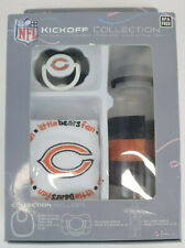 NFL Kickoff Collection Chicago Bears Baby Bib/ Pacifier/Bottle New In Box