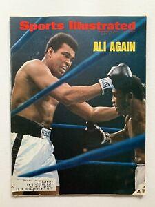 "2/4/74 Sports Illustrated ""Ali Again"" Muhammad Ali Victory Over Joe Frazier"