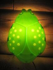 Ikea Green Ladybug Bug Children's Night Light Wall Lamp Kids Baby Nursery