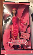 2005 Marvel Elektra Barbie Doll H1699 New
