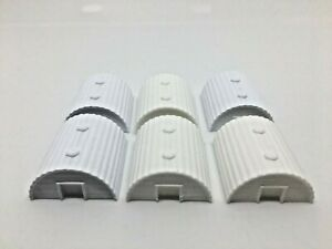 Nissen hut model. 3D printed in PLA. Set of 6, requires painting ww1 ww2 models