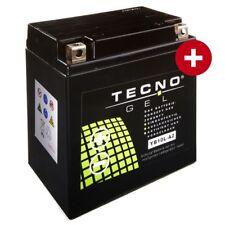 YB10L-A2 TECNO Gel Batterie Suzuki GN 250 GS 400 450 500 550 GSX 250 400 GT 185