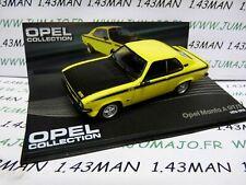 Ope40 1/43 ixo designer serie opel collection: opel manta a gt/e 1974/1975