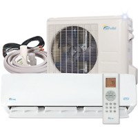 30000 BTU Mini Split Air Conditioner with Heat Pump Remote and Installation Kit