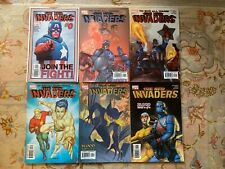 The new Invaders collectable marvel comics lot 0 to 5