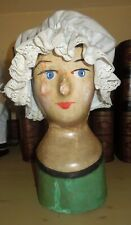 Antique Early French Milliner Head - Marotte circa 1850