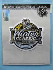 NHL 2011 WINTER CLASSIC LOGO PATCH OFFICIALLY LICENSED EMBLEM NIP