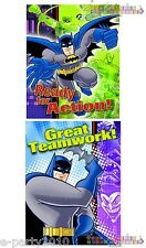 BATMAN Super Hero INVITATIONS and THANK YOU NOTES (8) ~ Birthday Party Supplies