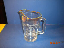 YUENGLING AMERICA'S OLDEST BREWERY PITCHER ETCHED 160TH