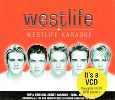 WESTLIFE Karaoke VCD (Video CD) ~ 2001 Asia issue!  NEW!